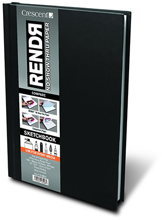 rendr hardbound sketchbook