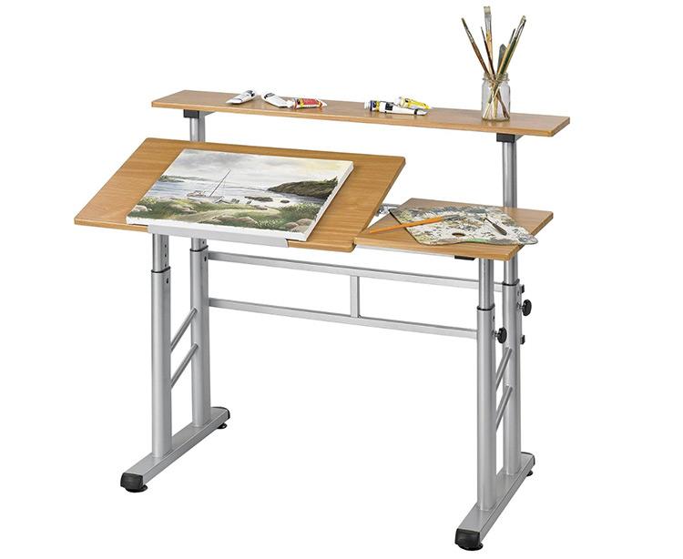 Safco Split Level Desk