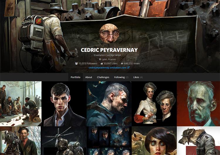 cedric peyravernay artwork
