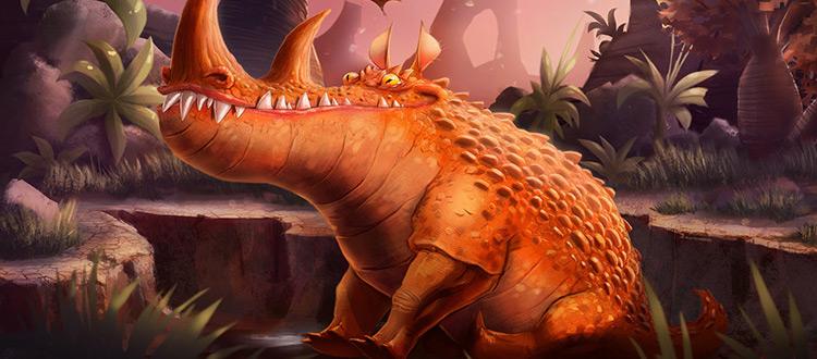 Dinosaur concept art