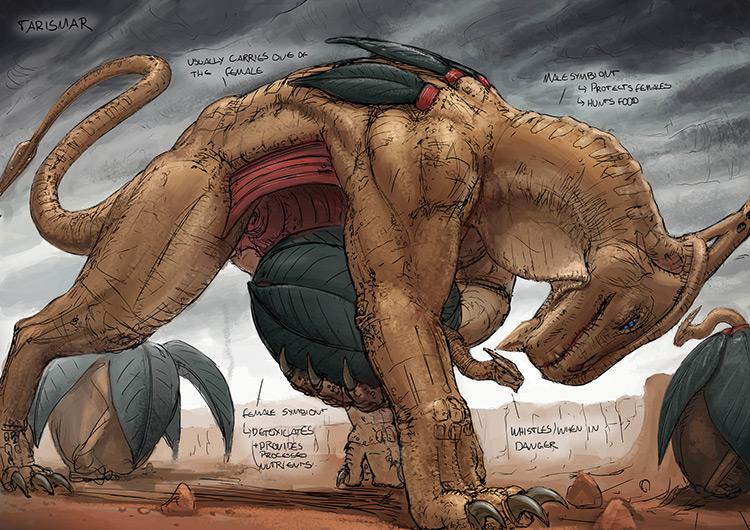 African Fantasy Concept Art