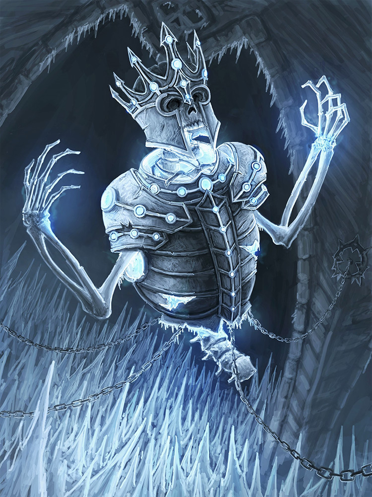 lich frost lichking illustration art concept