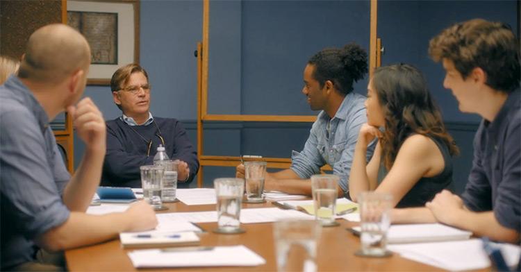 Aaron Sorkin teaching Screenwriting