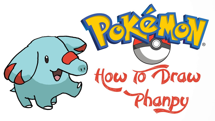 easy pokémon to draw a huge list for artists with step by step