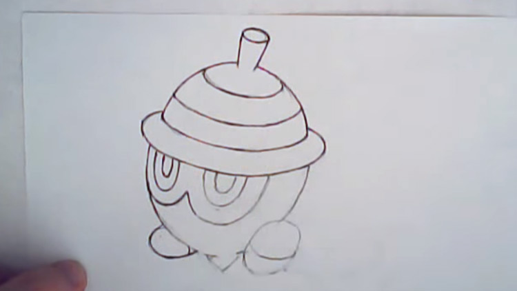 Easy pokmon to draw a huge list for artists with step by step whats easier than drawing a basic acorn shaped nut altavistaventures Image collections