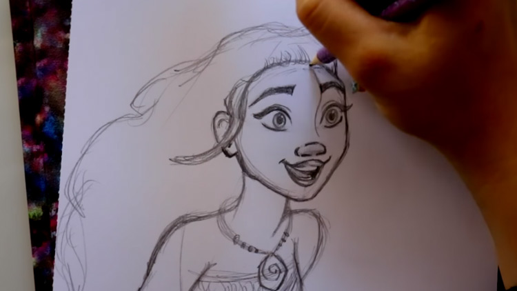 Ideas For Disney Characters To Draw With Step By Step Video Tutorials