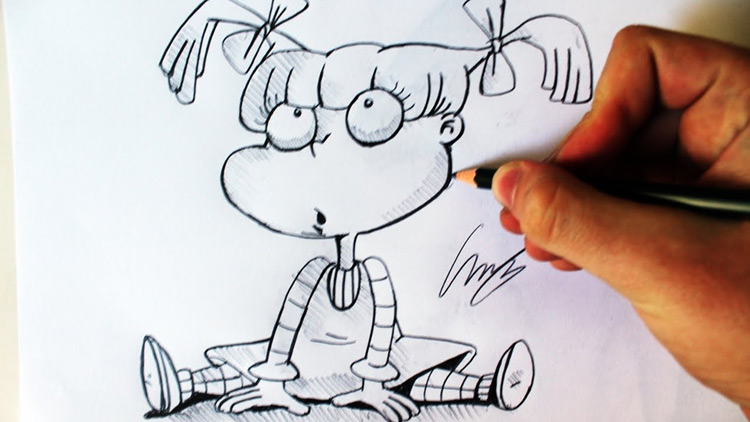 50 Cartoon Characters Anyone Can Draw With Free Video Tutorials