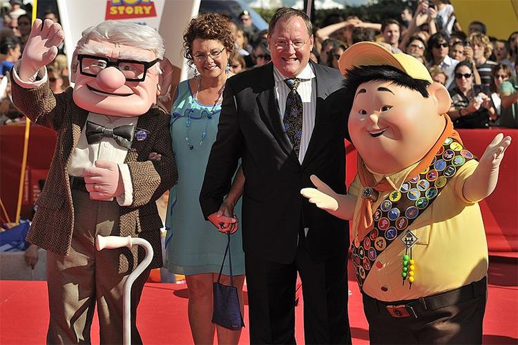 John Lasseter at Up premiere