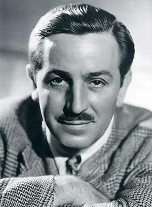 Walt Disney headshot photo