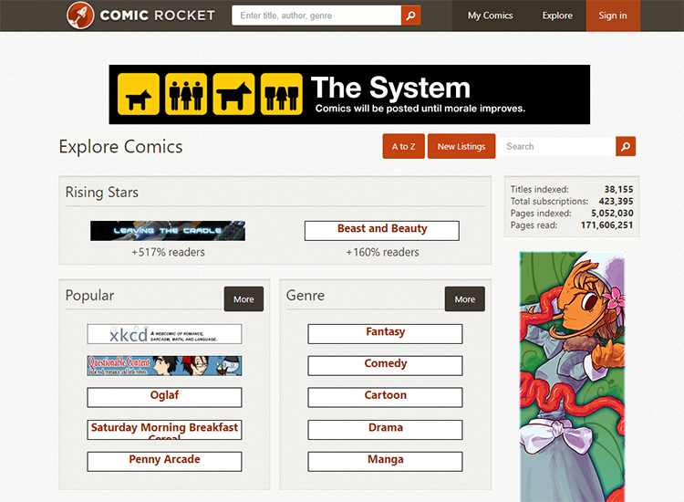 Webcomic Sites: A List To Help You Find Cool New Comics