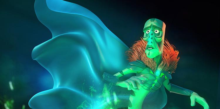 alien character magican concept art