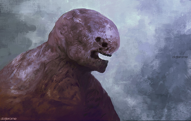 alien creature monster sci-fi art