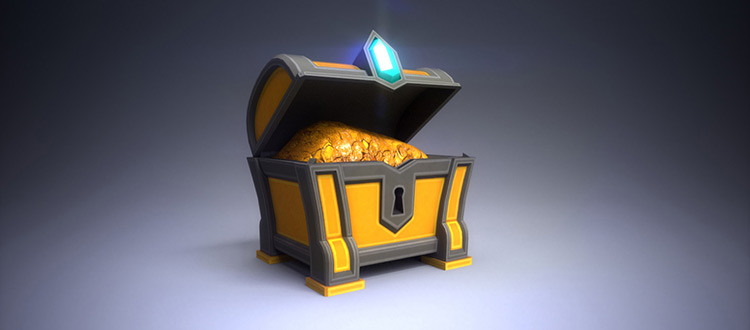 Treasure chest concept art