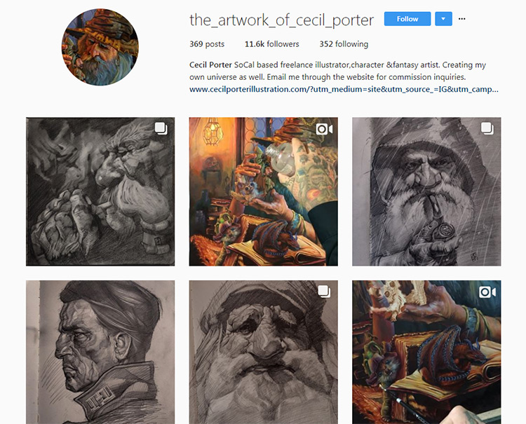 Cecil Porter Instagram