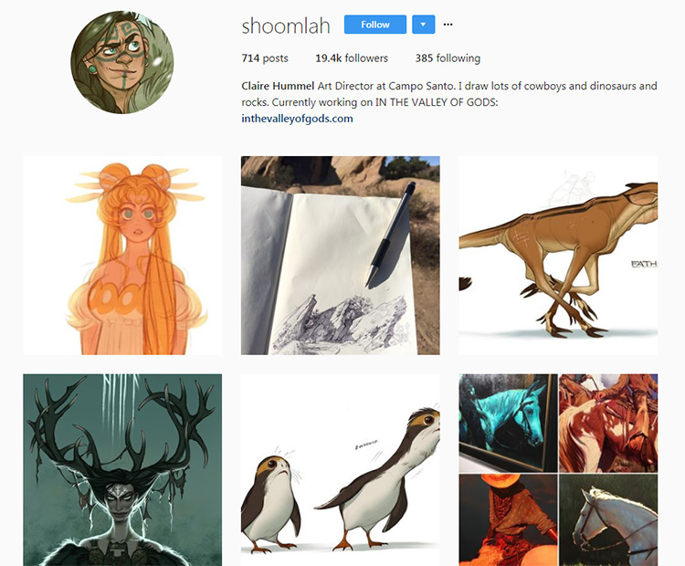 Claire Hummel Instagram