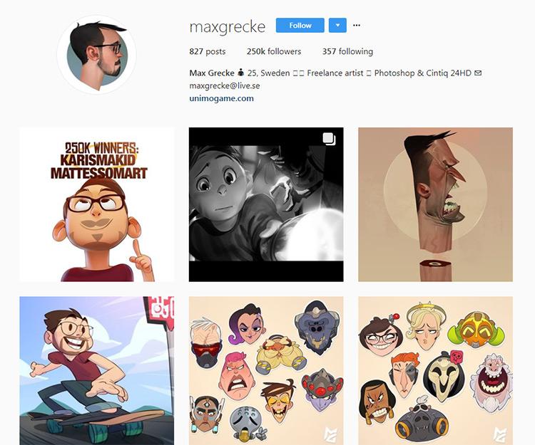 Max Grecke Instagram