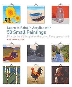 Learn Paint Acrylics 50 Paintings