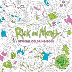 Rick Morty Coloring