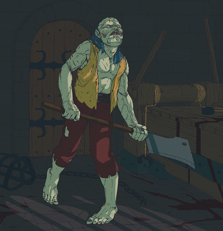 zombie heroquest fantasy dangeon fan art