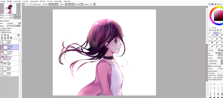 Free Paint Tool SAI Tutorials For Digital Drawing & Painting
