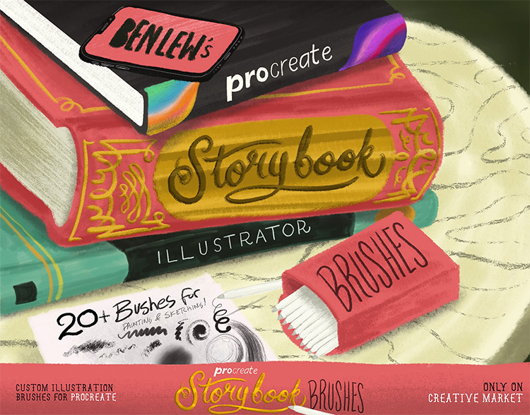 50+ Procreate Brushes For Artists (Best Free & Premium Brush