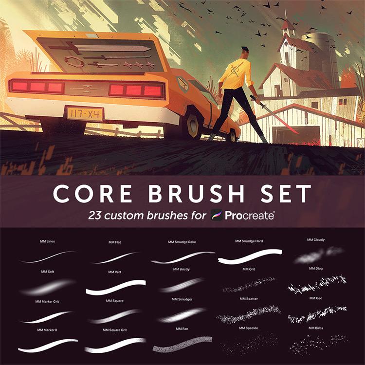 Photoshop-like brushes kit