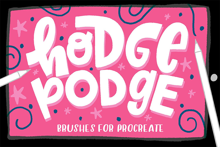 Hodgepodge brushes pack