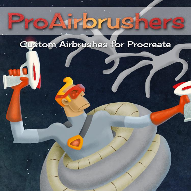 airbrush procreate