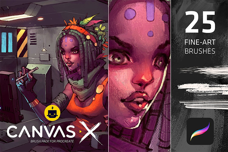 CanvasX Procreate