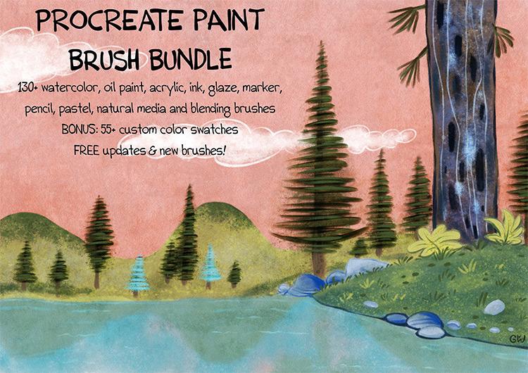 Massive painting bundle set
