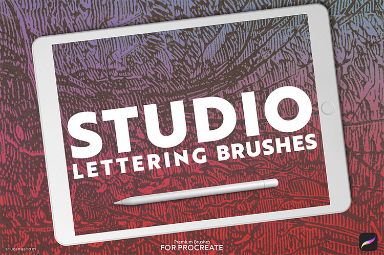A Dozen Brushes Procreate