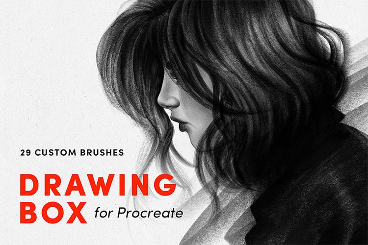 Drawing Box Procreate brushes