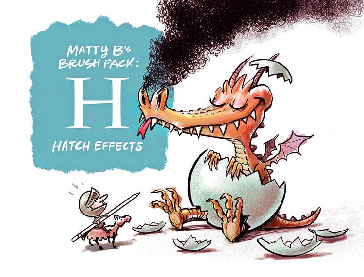 MattyB brush pack set