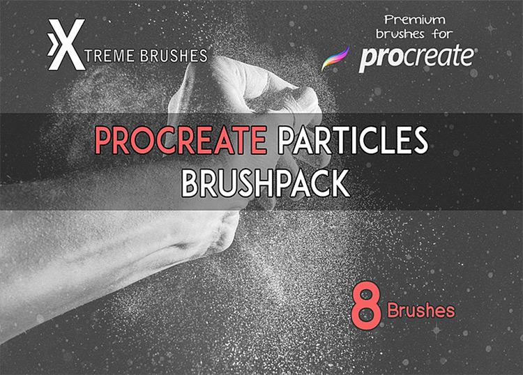 Procreate particles set