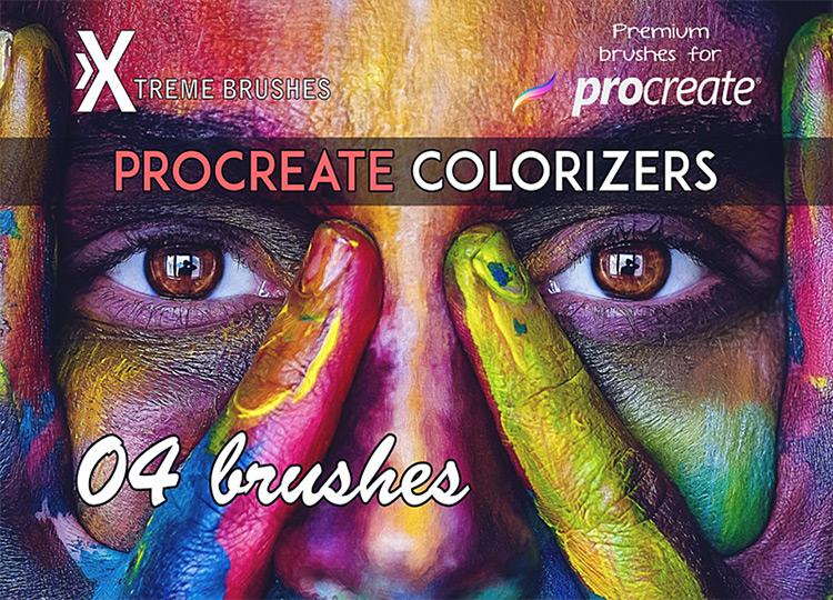 Procreate Colorizer brushes