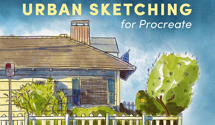 Urban sketching brushes pack