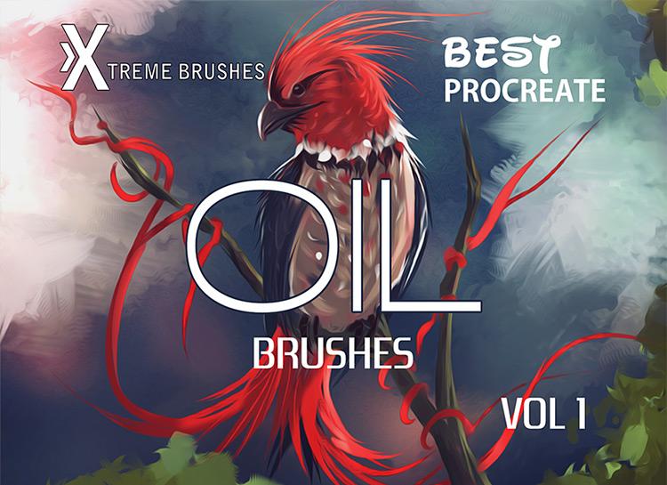 Best Oil brushes set for Procreate
