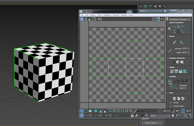 optimal uv unwrapping box