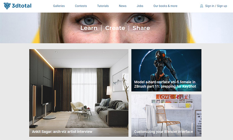 Best CG/3D Websites, Forums & Social Networks