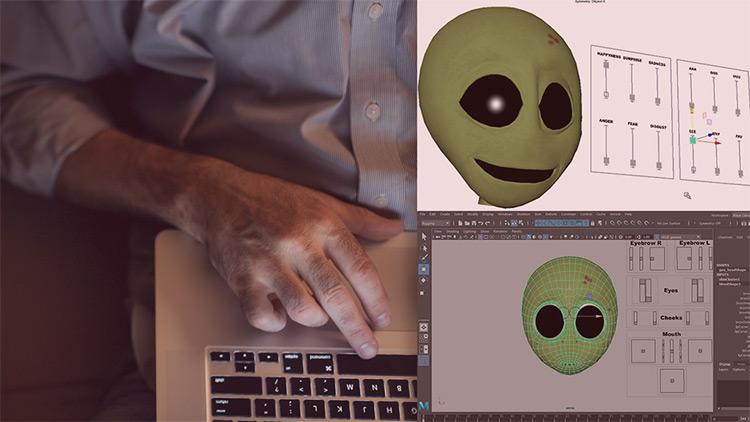 Facial recognition rigging course