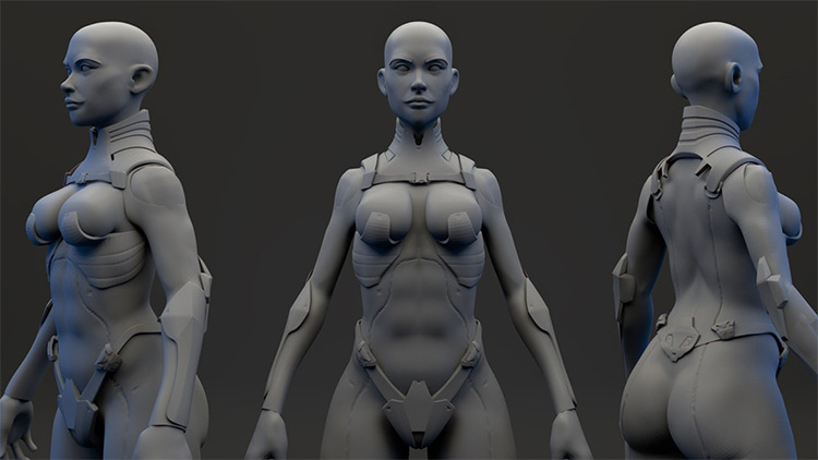 Zmodeler character course
