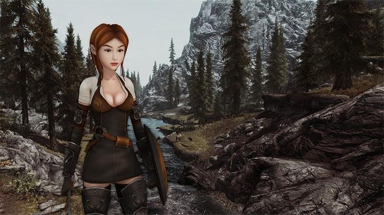 medieval girl warrior rig