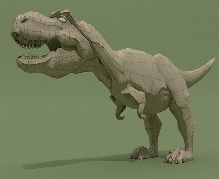 t-rex model frebie