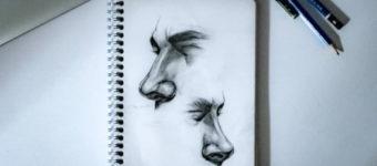 70+ Drawings Of Noses: Sketches, Studies & Sketchbook Examples