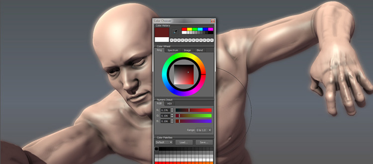 Autodesk Mudbox preview sample