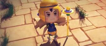 3D mystical character model
