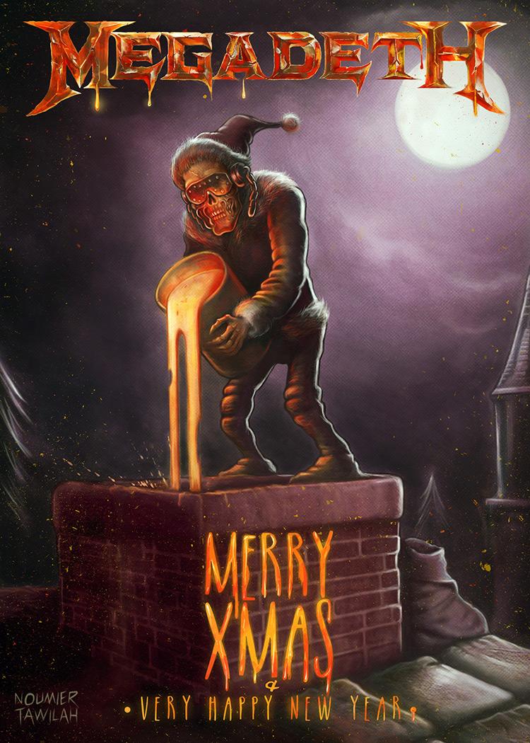 megadeth chimney christmas