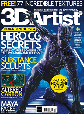 3D Artist Mag Cover