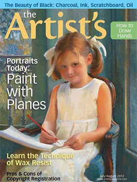 Artists Magazine Cover