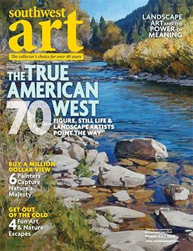 Southwest Art Cover